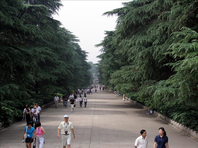 Dr Sun's Mausoleum. Nanjing