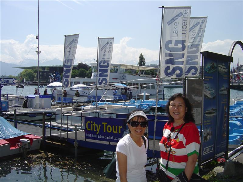 Lake Lucerne cruise and lunch)