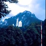 Baviera castillo en la montaña