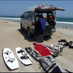 Kitesurfing in Peru