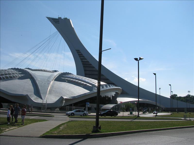 complex voor olympische spelen van '76