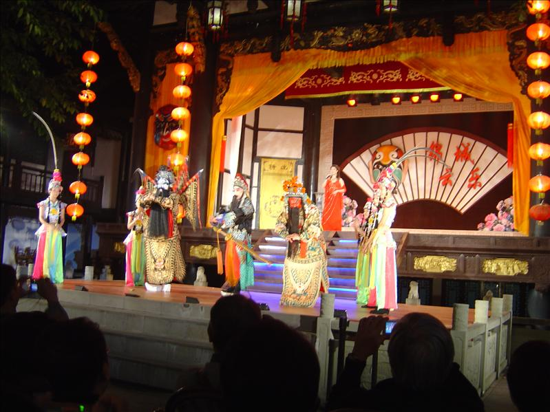 Sichuan Opera (Changing faces)