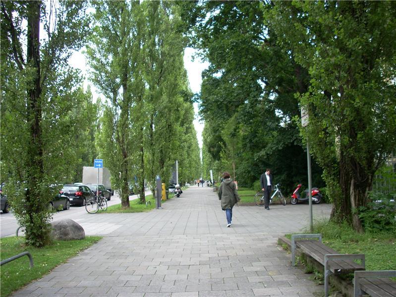 Munich promenade