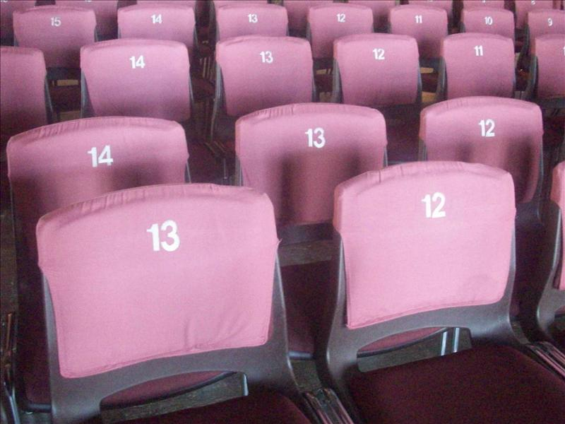 Have a seat lucky number 13