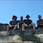 The guys at Copan ruins