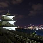 Akashi Castle & Akashi Bridge