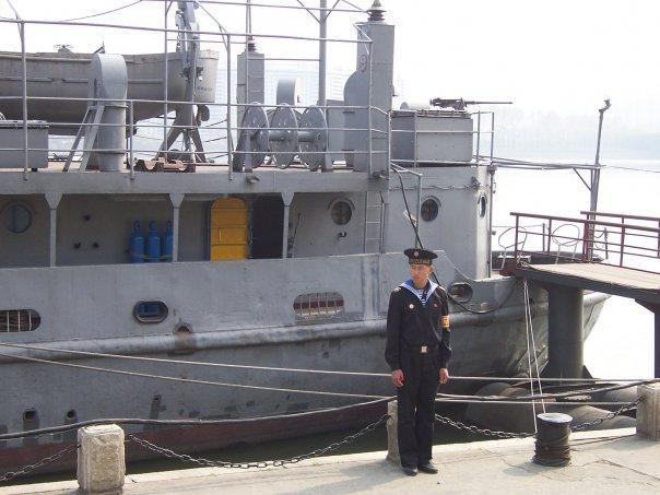 USS PUEBLO, TAEDONG RIVER, PYONGYANG