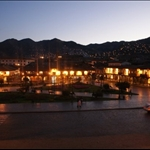 The Plaza De Armas at night - beautiful - The main square