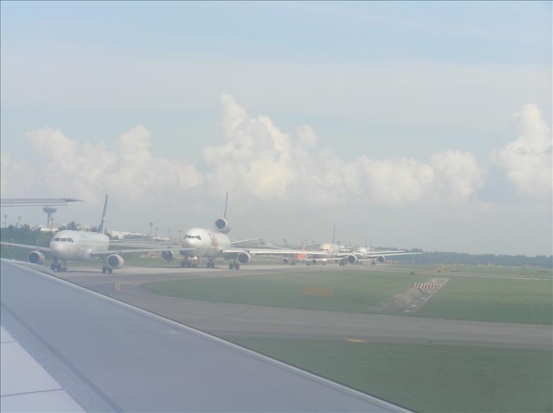 Heading to Jakarta