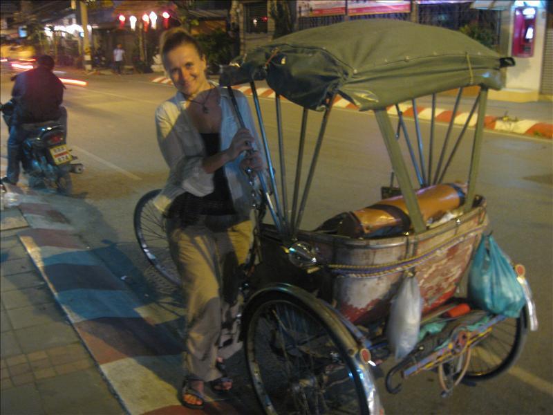I wanna trade my bicycle!