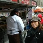 Halal Cart on the streets of NY