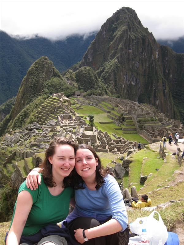 What a view...and Machu Picchu too