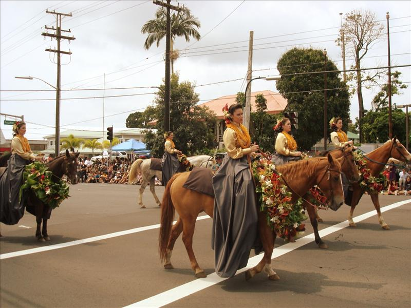 Hilo - Merrie Monarch Parade