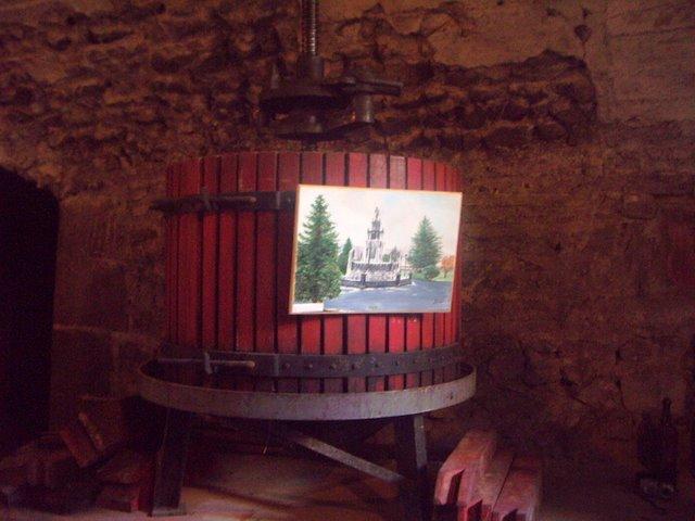 釀酒工具   葡萄都丟進去榨