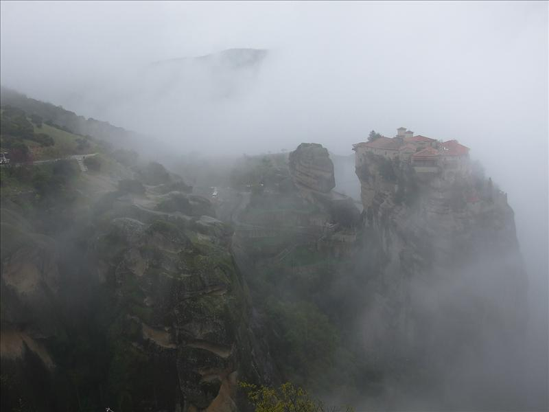 Meteora, Varlaam Monastery, Greece