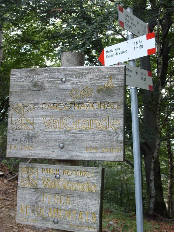 Alpe Ompio•Val Grande•2009
