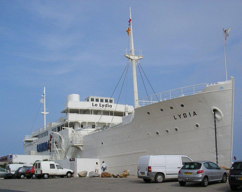 ..... the good ship Lydia, which is now an on-shore  casino...