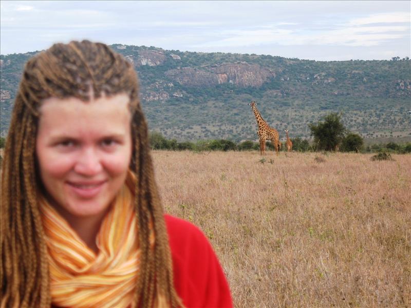 Elisa•giraffes•Makutano