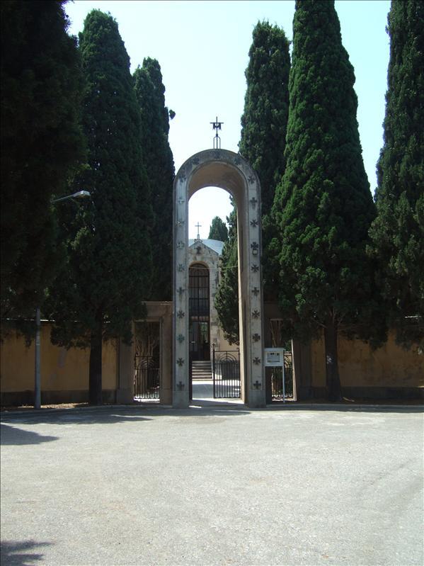 Kos Town - Entrance to Roman Catholic Church