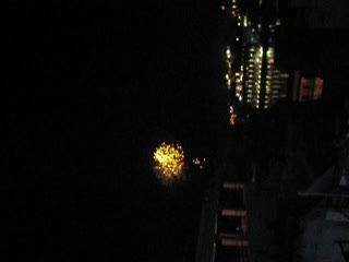 Boxing Day fireworks in Udaipur