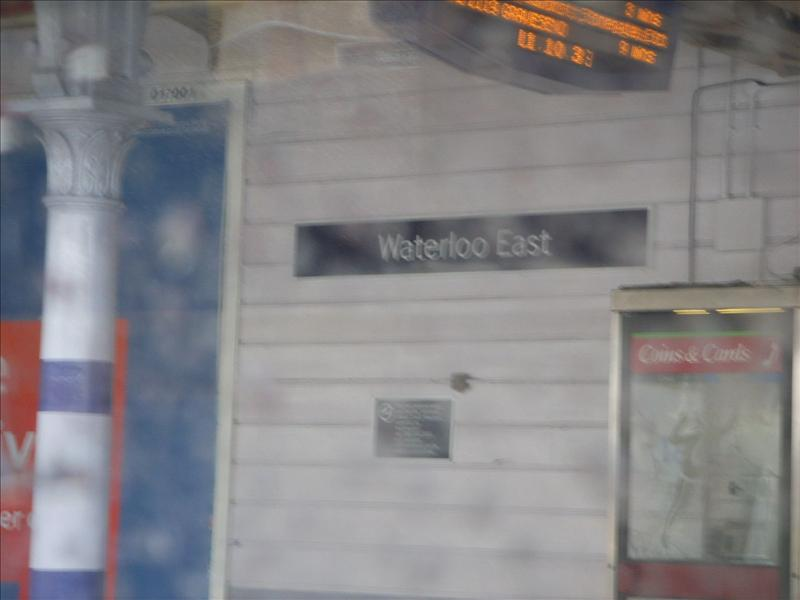 waterloo underground station