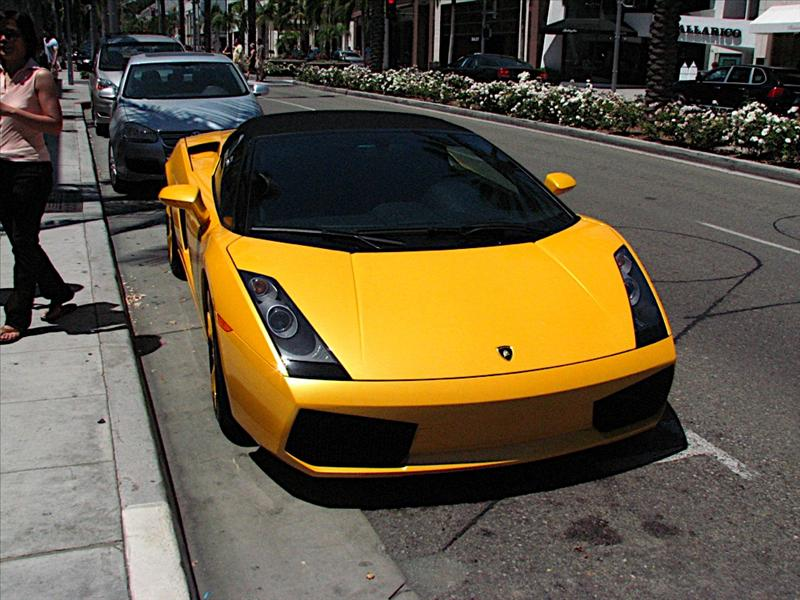 Lamborghini Gallardo Spyder - Rodeo Drive in Beverly Hills