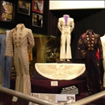 the famous costumes Elvis wore onstage