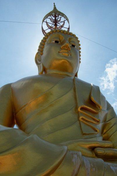 BUDDHA ON THE HILL, WAT THAM SEUA (TIGER CAVE TEMPLE), KRABI