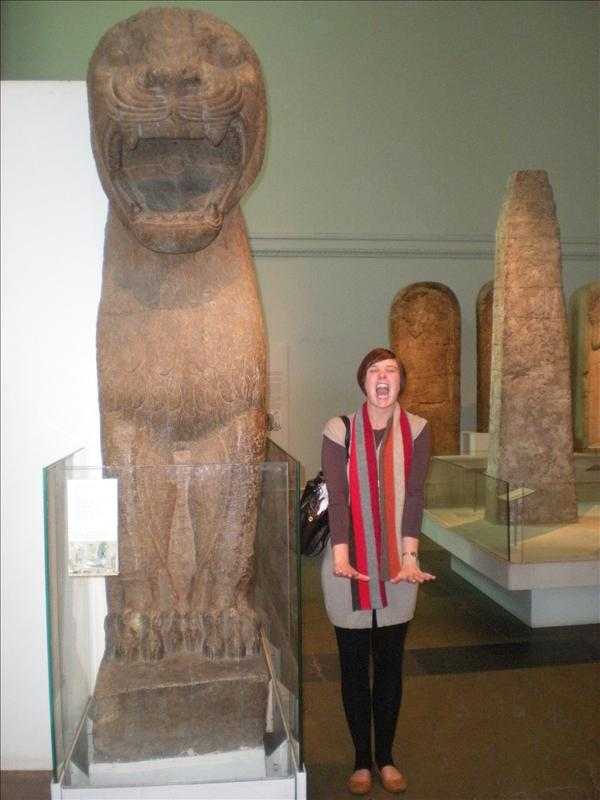 hehe...British Museum - 19th May