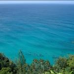 Kauai - Hiking tour, turquoise water