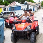 We rented ATV