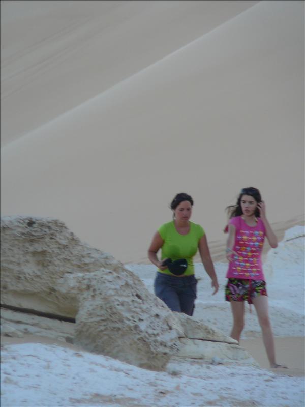 Siwa - Woestijn Nikki en Danielle