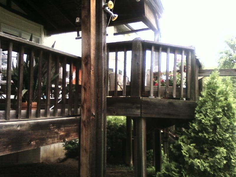 big deck, all cedar