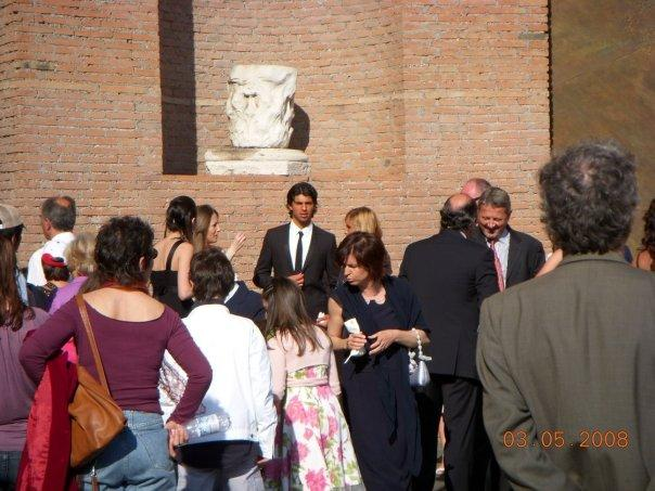 Rome - celeb spotting