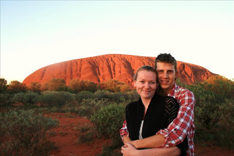 Sunrise - Uluru.