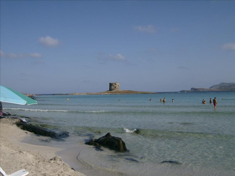 Beach La Pelosa Stintino