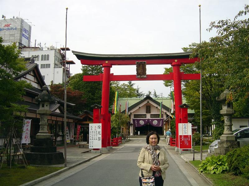 """Utou Shrine"" in Machi-Machi Plaza"