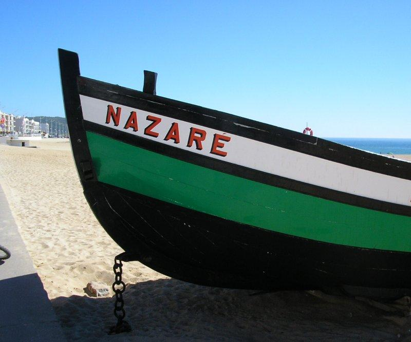 Seaside port of Nazare.
