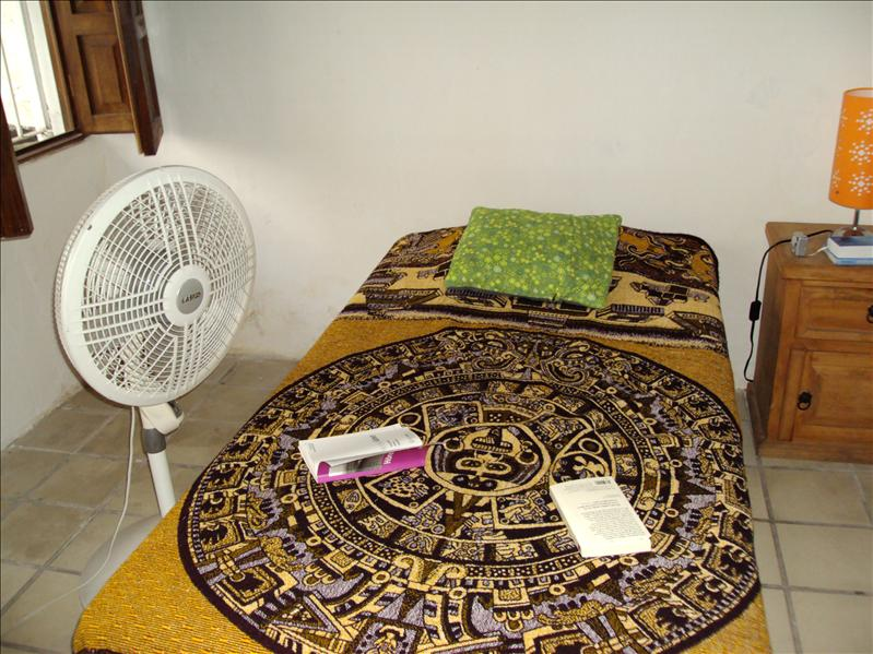 Zimmer in Puerto Vallarta - ganz wichtig: Ventilator!