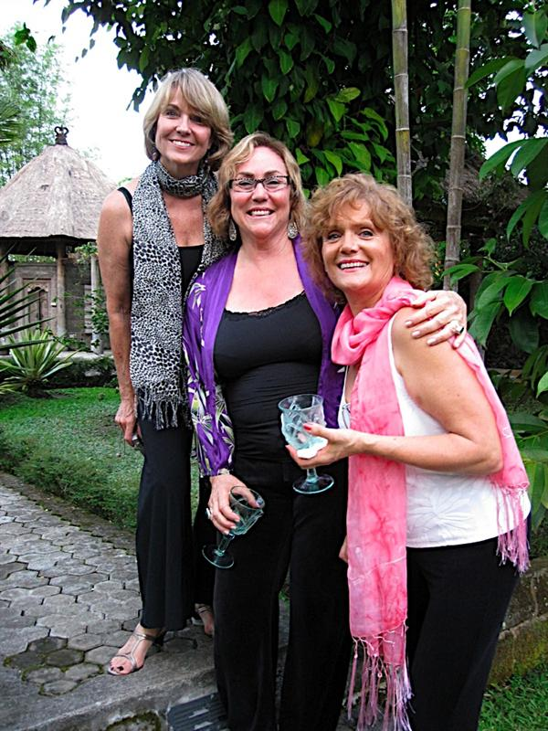 Sharon, Marcia and Karen.