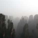 Wulingyuan (Near Zhangjiajie), Hunan, China - 20-21.3.2010