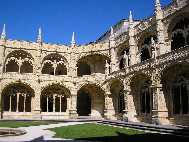 Best cloister in Portugal....