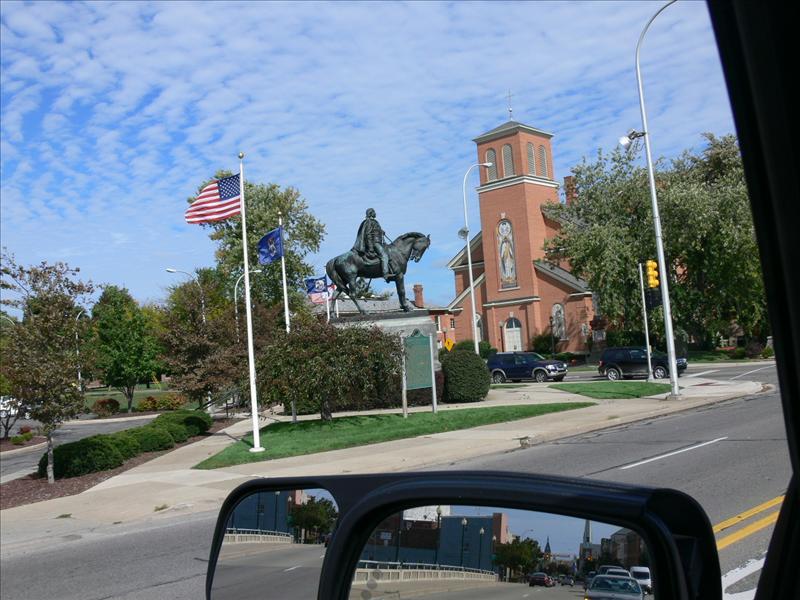 General Custer Down town Monroe