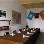 西安事變時蔣介石在華清池的會議室