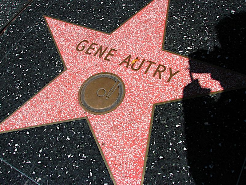 Gene Autry star