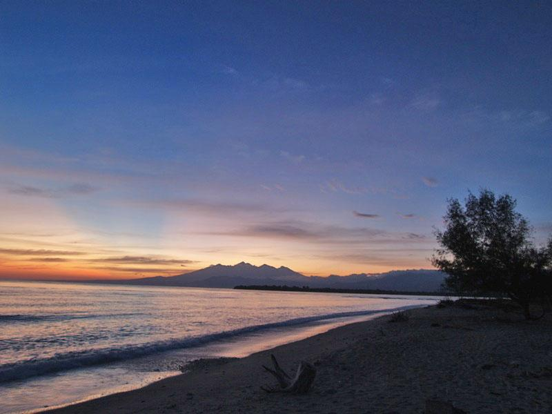 Sunrise on Gili Trawangan