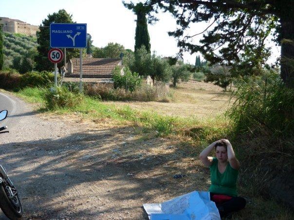 giorno 3: verso l'argentario...momento di crisi, che stanchezza!