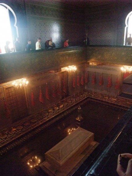 La tombe du roi Mohamed V