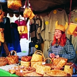 Market in Old Town Tallinn