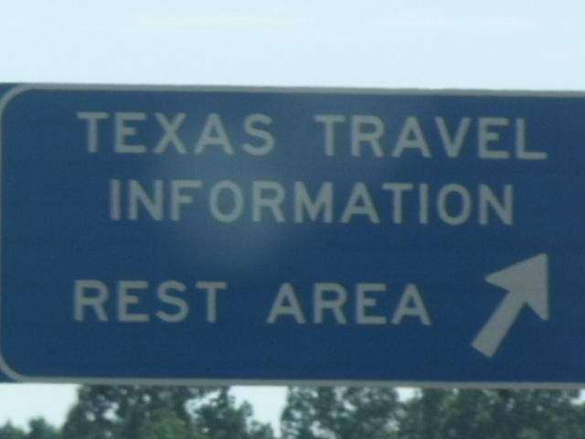 What no BIG Texan welcome sign